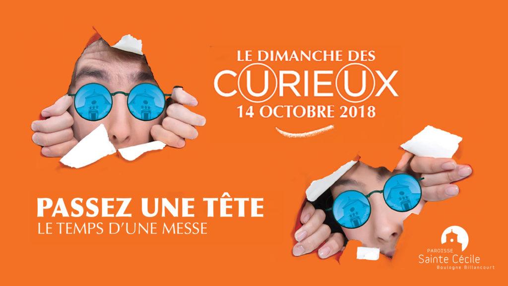 Dimanche des Curieux 2018 Paroisse Sainte Cecile Boulogne